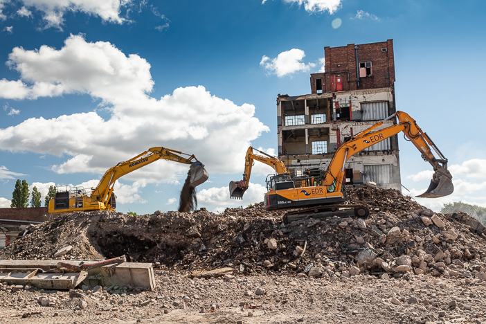 Industrial Photography - Demolition